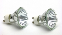 20w GU10 Halogen Reptile Basking Bulbs, set of 2 bulbs