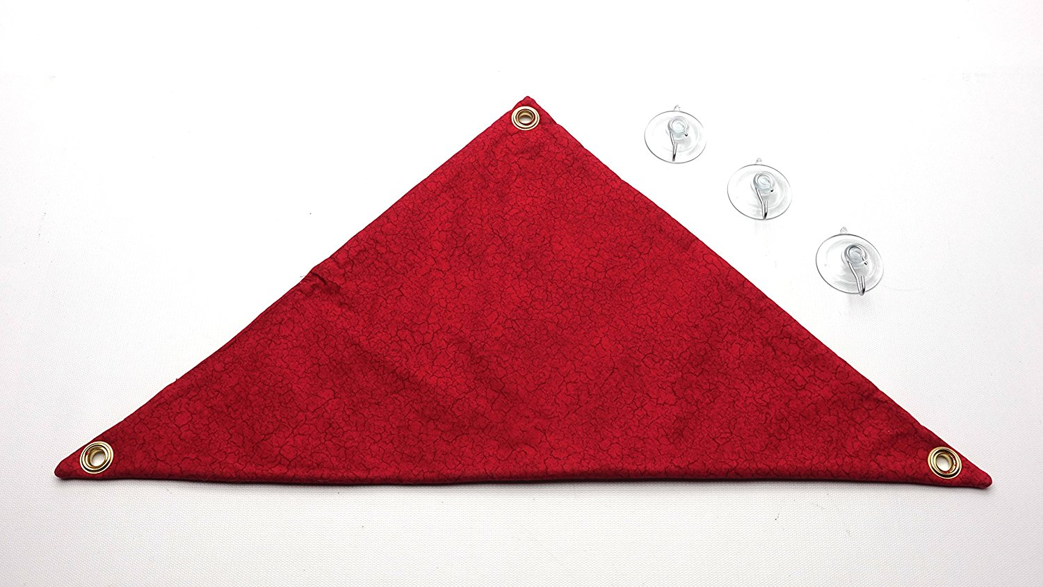 hammock for bearded dragons red crackle fabric with suction cup hooks