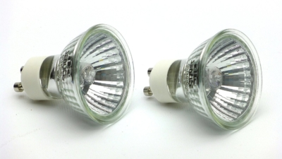 35w GU10 Halogen Reptile Basking Bulbs, set of 2 bulbs